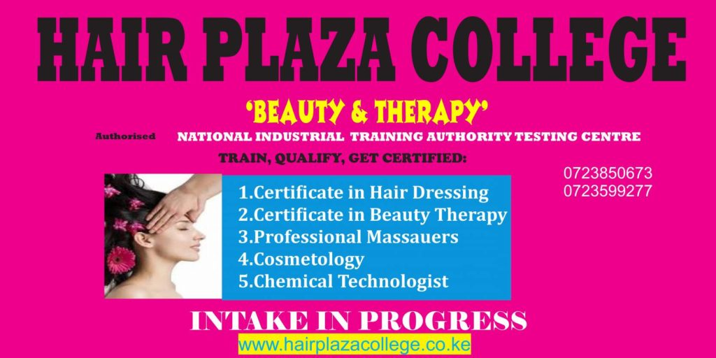 beauty colleges in kenya
