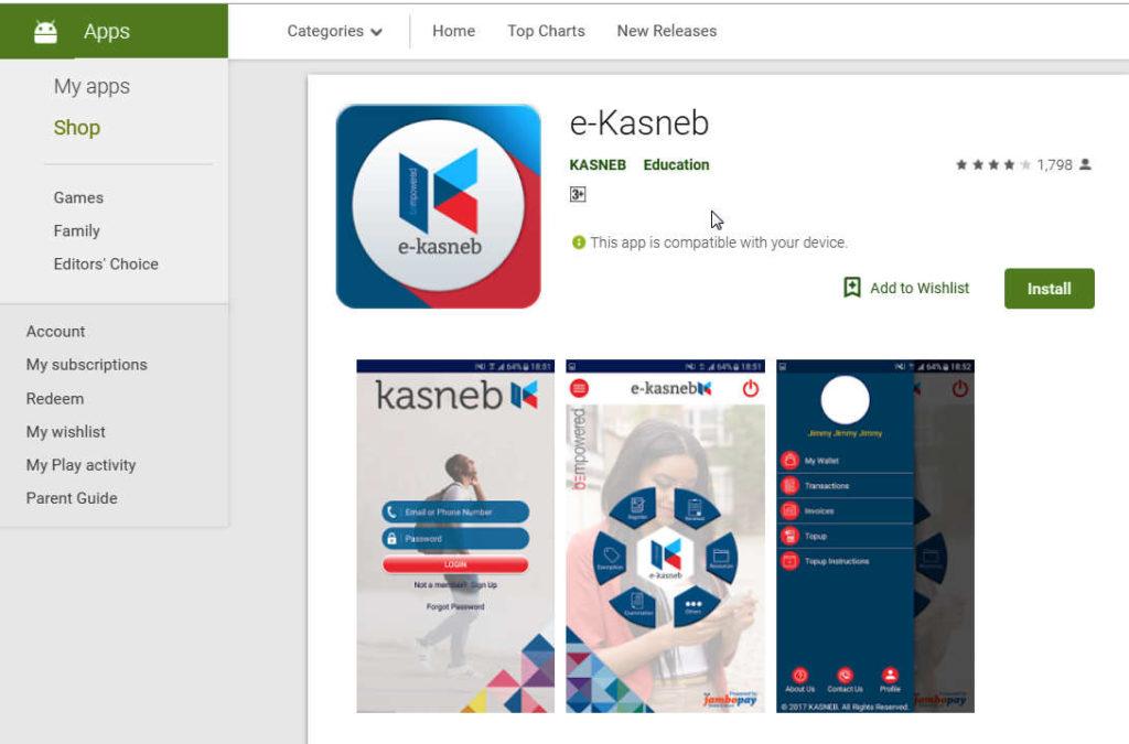 KASNEB App