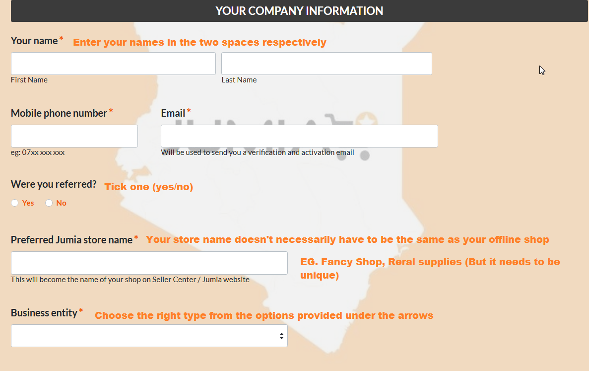 jumia kenya contacts