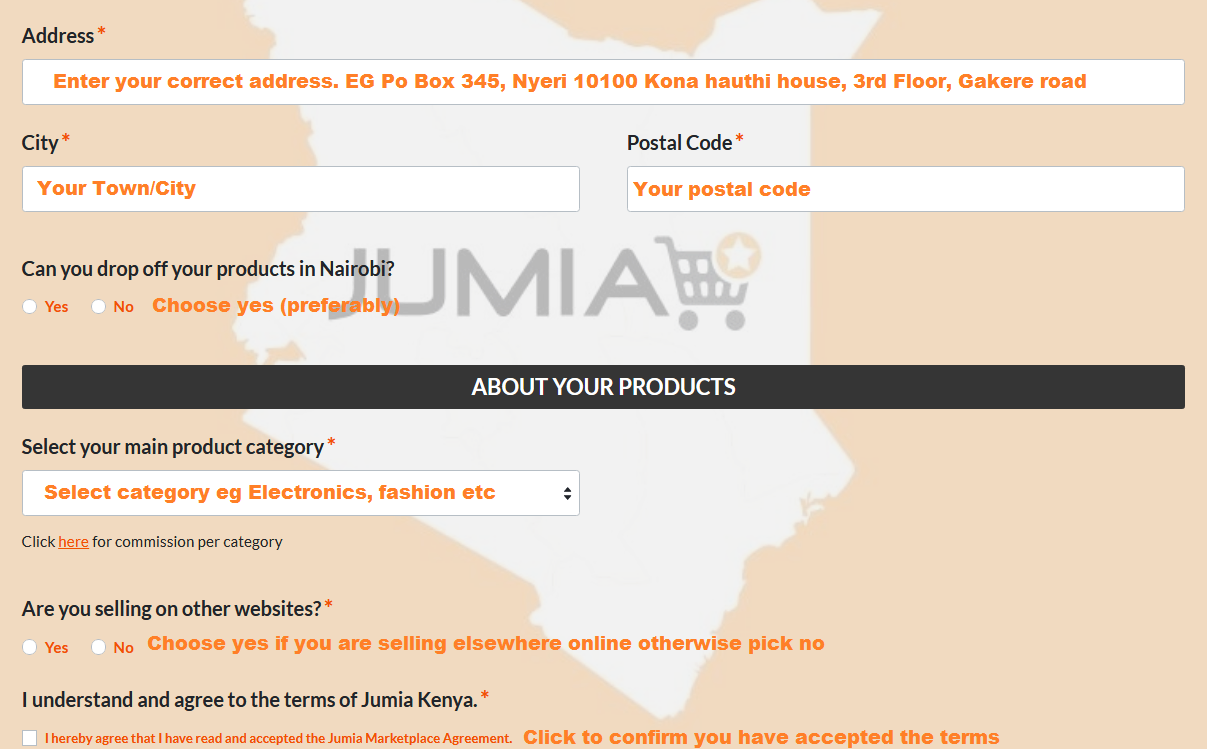jumia vendor services