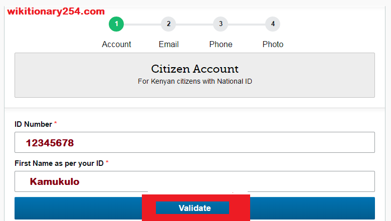 ecitizen business registration