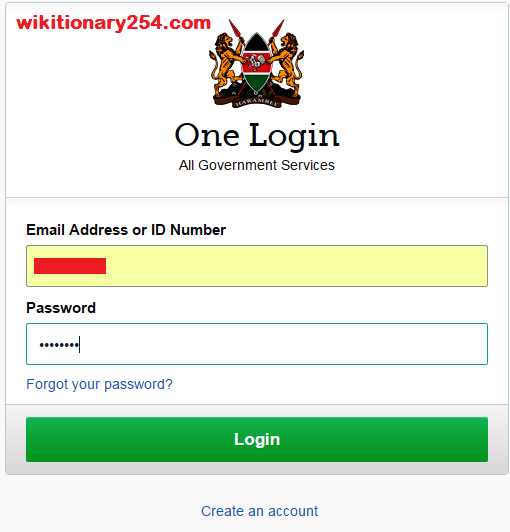 How can I reset my Ecitizen account in Kenya?