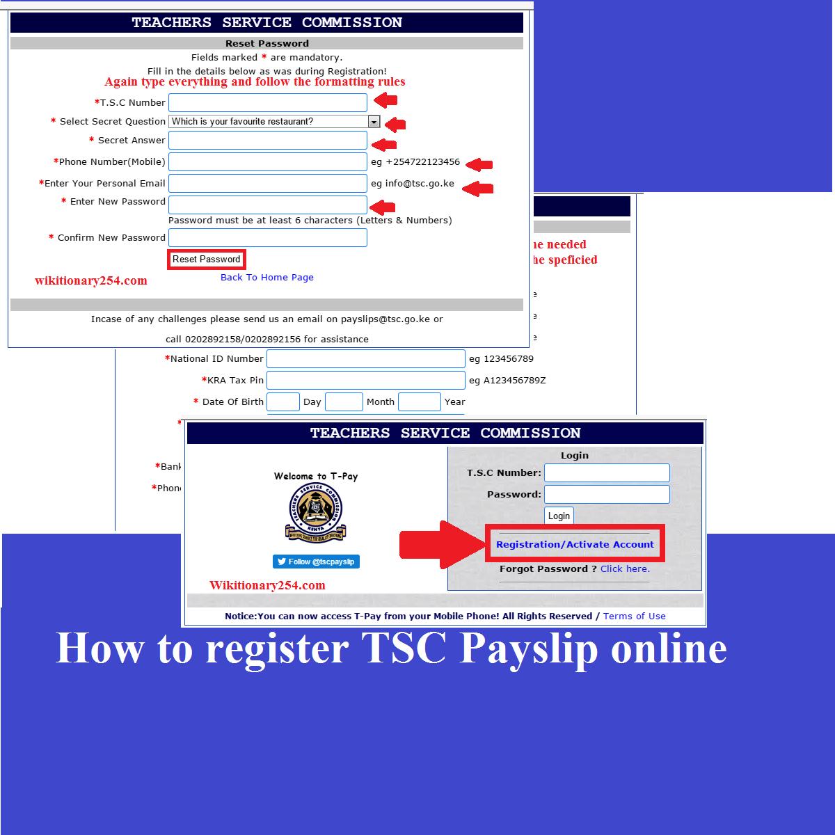 TSC Payslip Online