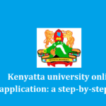 Kenyatta university online application