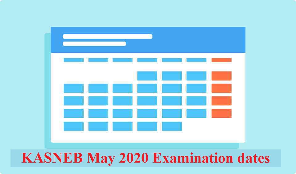 KASNEB May 2020 examination dates