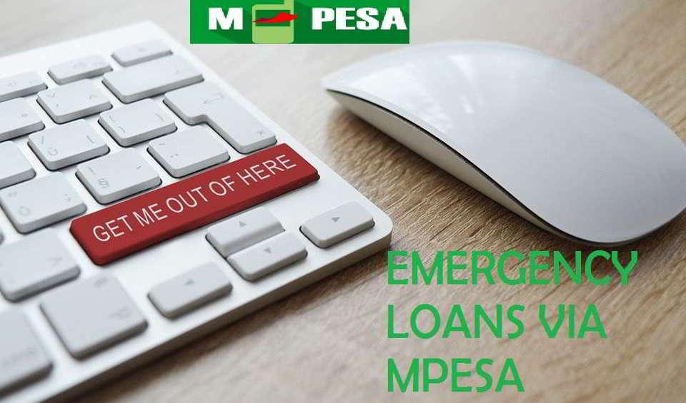 Emergency Loans in Kenya Via MPESA